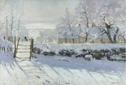 Monet-The Magpie 1868-69