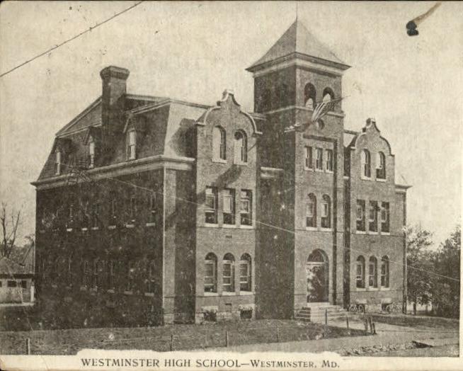 Westminster High School 1910