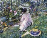 Garden in June 1911, Frederick C. Frieseke