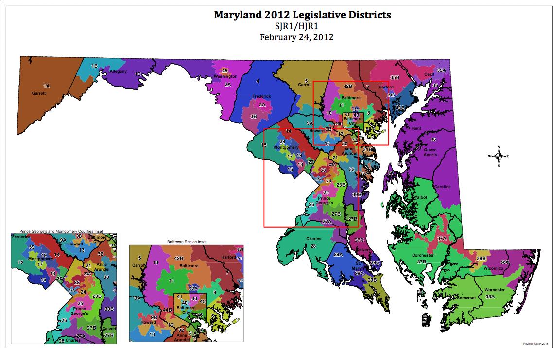 maryland-legislative-districts
